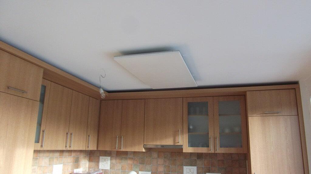 Frico infrapanel a konyhában - Infrapanel Dévényi