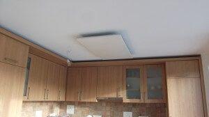 Frico infrapanel a konyhában - Infrafűtés Dévényi